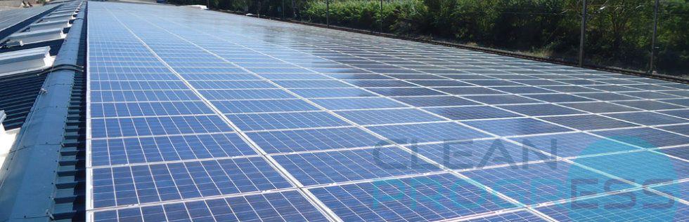 Clean Progress, des pros du nettoyage de toiture solaire